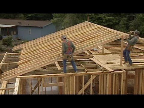 How To Build A Gable Roof And Extend The Roof Overhang Building A Shed Shed Building Plans Building A Deck