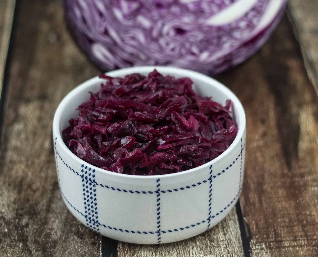Recipe for Homemade Danish Red Cabbage (Rødkål)