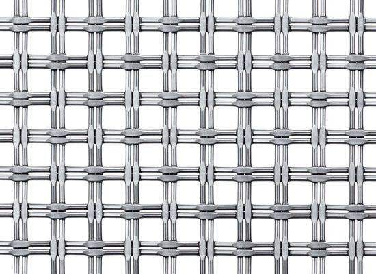 Bronze woven wire fabric / stainless steel / square mesh M22-43 ...