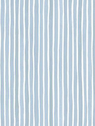 Cole & Son Croquet Stripe Wallpaper, 110/5026 Blue