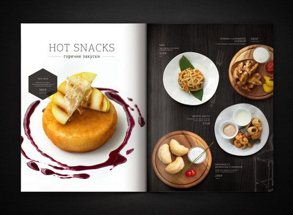 20+ Beautiful Restaurant, Cafe and Food Menu Designs for ...