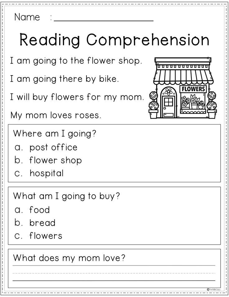 Reading Comprehension Spring Edition (With images
