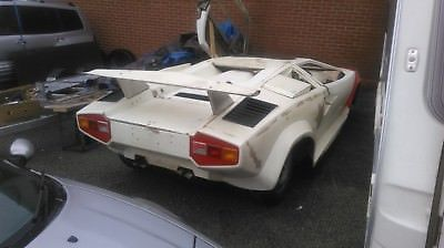 Ebay Lamborghini Countach Replica Kit Car Project Carparts