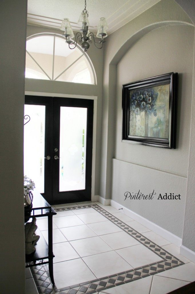 Painting Floor Tile Floor Tile Design Entryway Tile Entryway