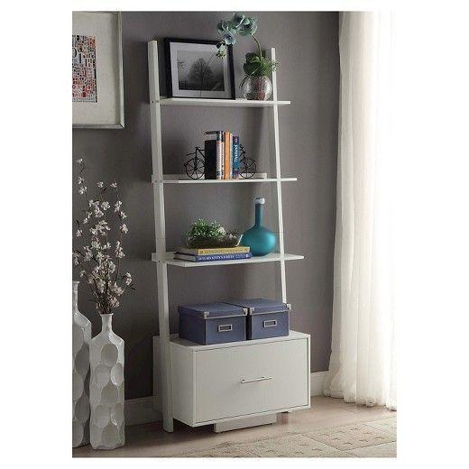 Decorative Bookshelf White