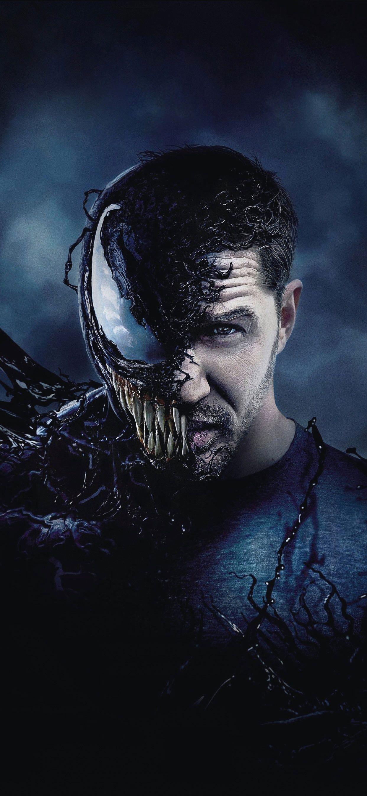Tom Hardy Venom 2018 1242x2688 Iphone Xs Max Wallpaper Marvel Movie Posters Marvel Posters Marvel Iphone Wallpaper