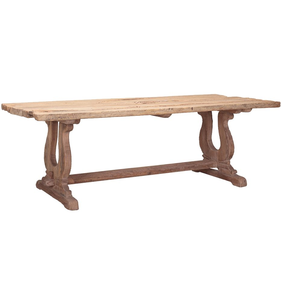 Furniture�::�Dining Tables�::�Reclaimed Rustic Wood Dining Table