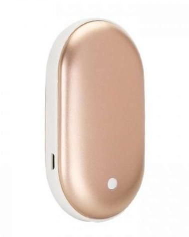 Portable Power Bank and Hand Warmer - GOLD