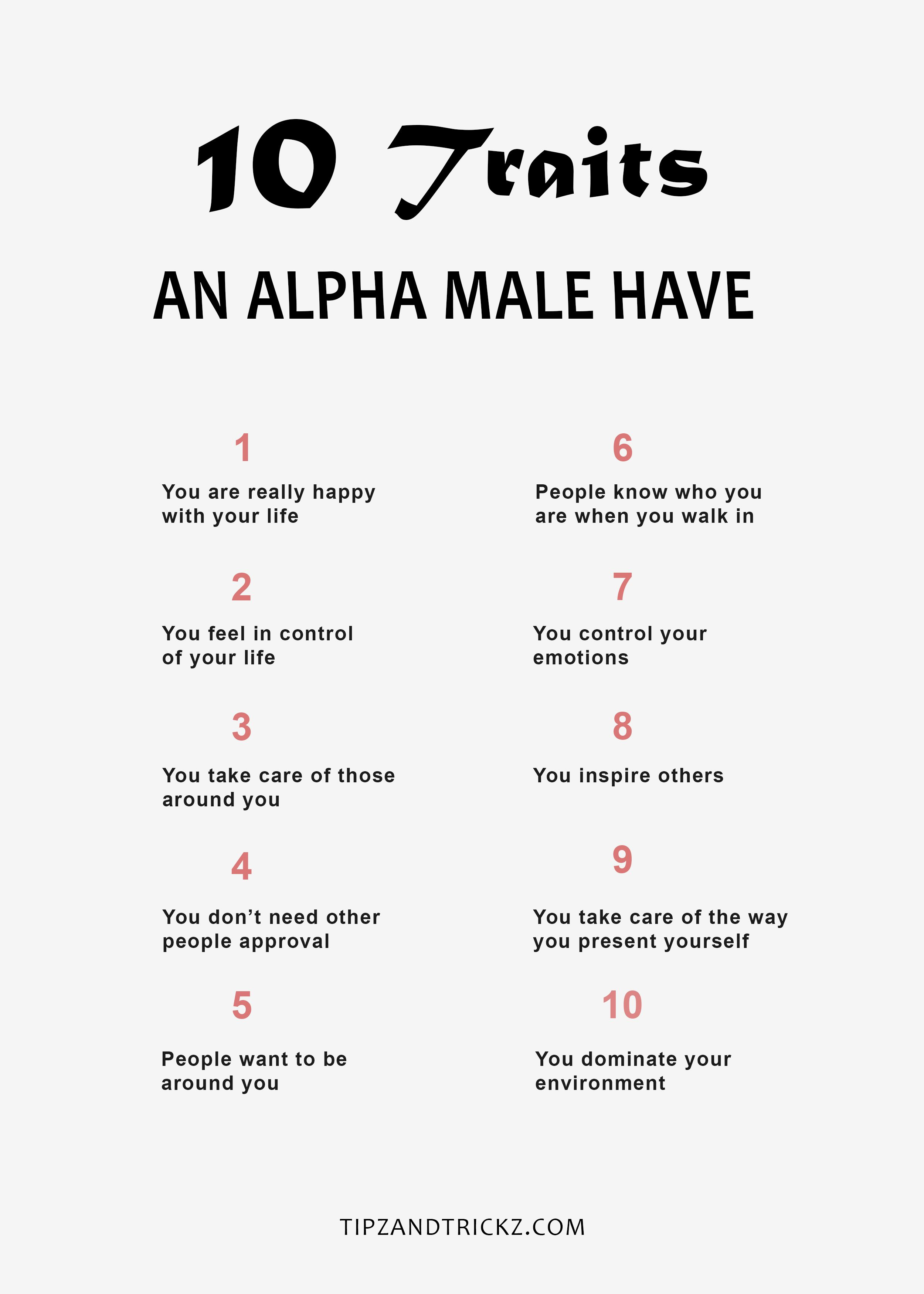 Is male who an alpha 9 Powerful