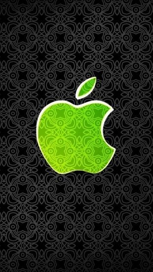 Green Apple Logo Green Pinterest Iphone Wallpaper