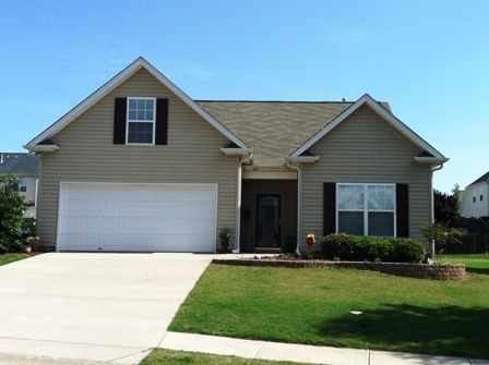 Beautiful home in desirable Sweetwater Hills Subdivision in Moore, SC. Award Winning Dist. 5 Schools, community pool. 3 Bed / 2 Bath with combination kitchen and living room. 2 Car Garage. Screened Porch and a patio.  Master has Walk-In Closet and double vanity sinks.  Hurry this wont last long at $164,900.  (MLS# 202135)