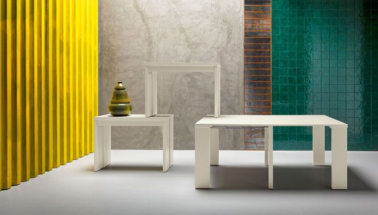 Tavoli Quadrati Allungabili Design : Tavoli quadrati allungabili modelli dal design moderno