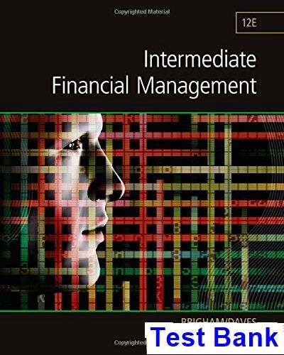 Intermediate financial management 12th edition brigham test bank intermediate financial management 12th edition brigham test bank test bank solutions manual exam fandeluxe Images