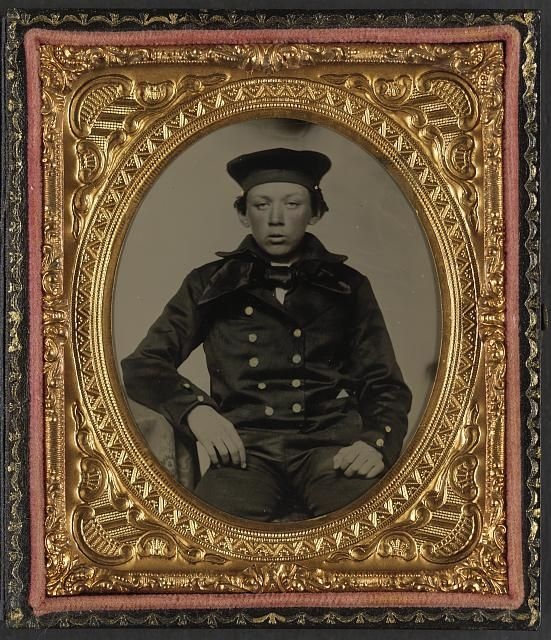 [Unidentified young sailor in Union uniform]