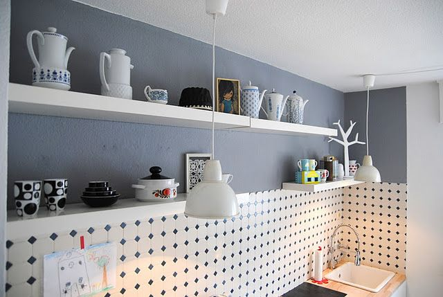 Wandfliesen Küche, Fliesenspiegel