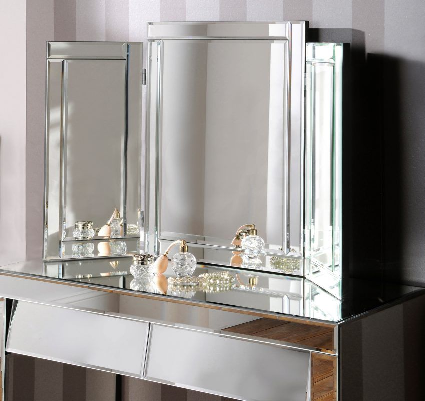 Sabrina Dressing Table Mirror Bespoke Mirrors Art Deco Mirrors Custom Made Mirrors Dressing Table Mirror Dresser With Mirror Mirror Table