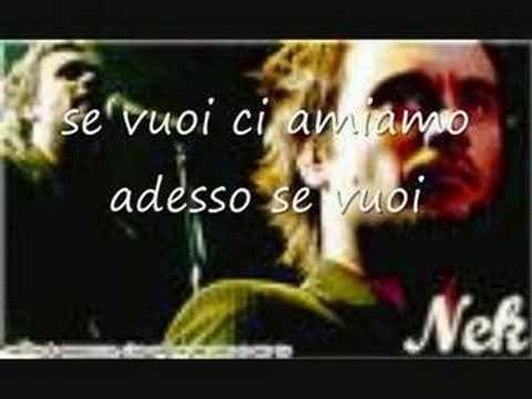 Laura Non C E Nek Lyrics Lyrics Learning Italian Learning