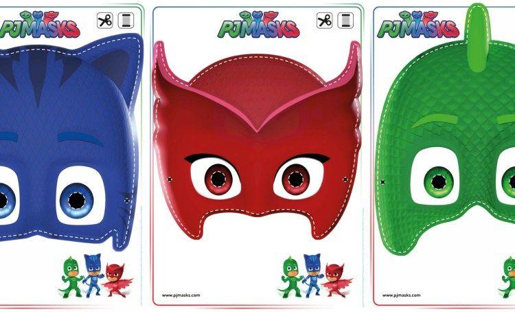 Printables Pj Masks Owlette Gekko Amp Catboy Masks Pj