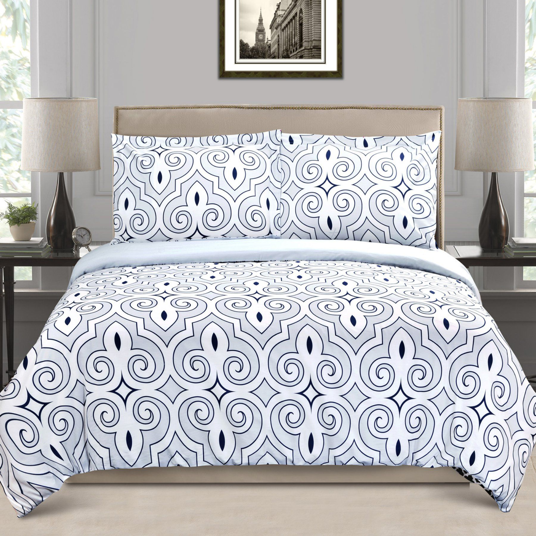Clarendon Duvet Cover Set By Superior  Clarendon Twdc