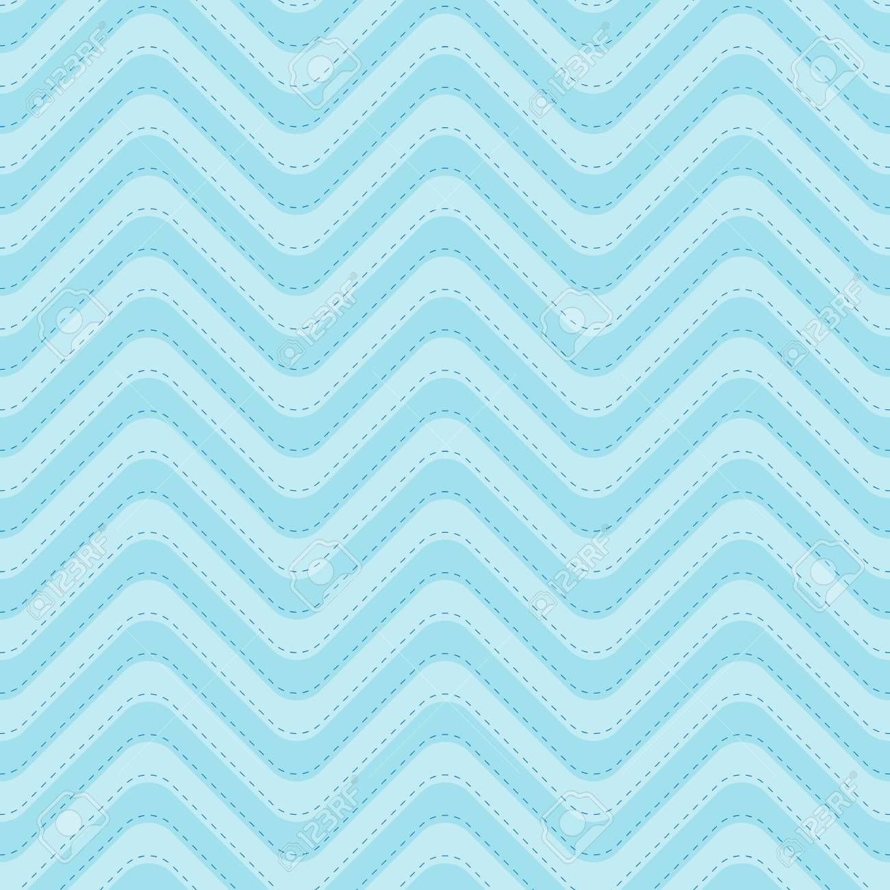 Wave Pattern Seamless Blue Sea Two Tone Colors And Blue Dashed Line Stripe Abstract Background Vector Ad Blue Sea Blue Wallpapers Abstract Wallpaper