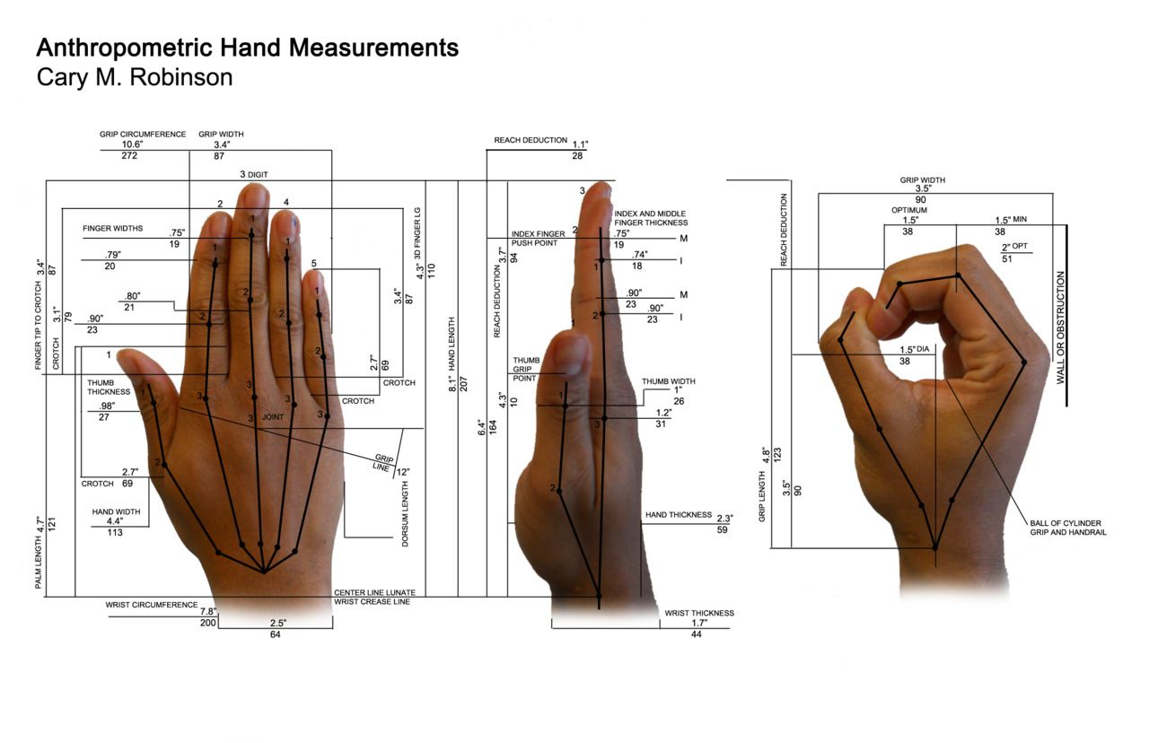 anthropometric hand data id201 pinterest product design Ergonomic Workstation Lighting Office Ergonomics Workstation
