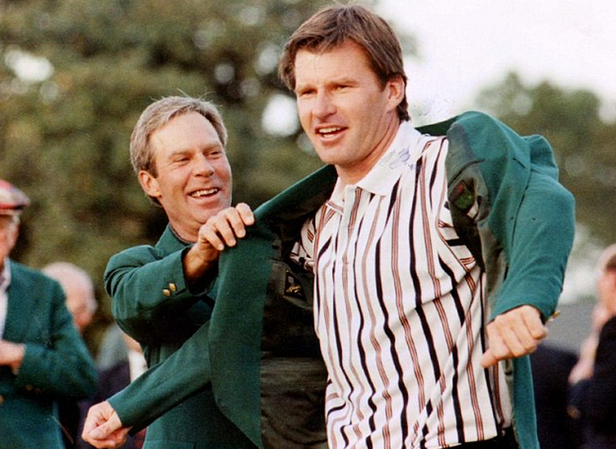 My Golf Tutor How To Play Golf Masters Green Jacket Augusta National Play Golf