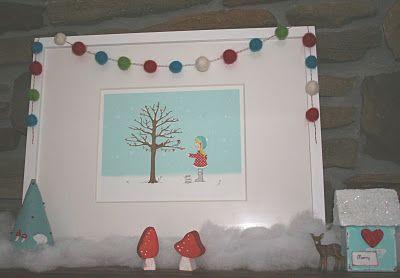 Cute winter print