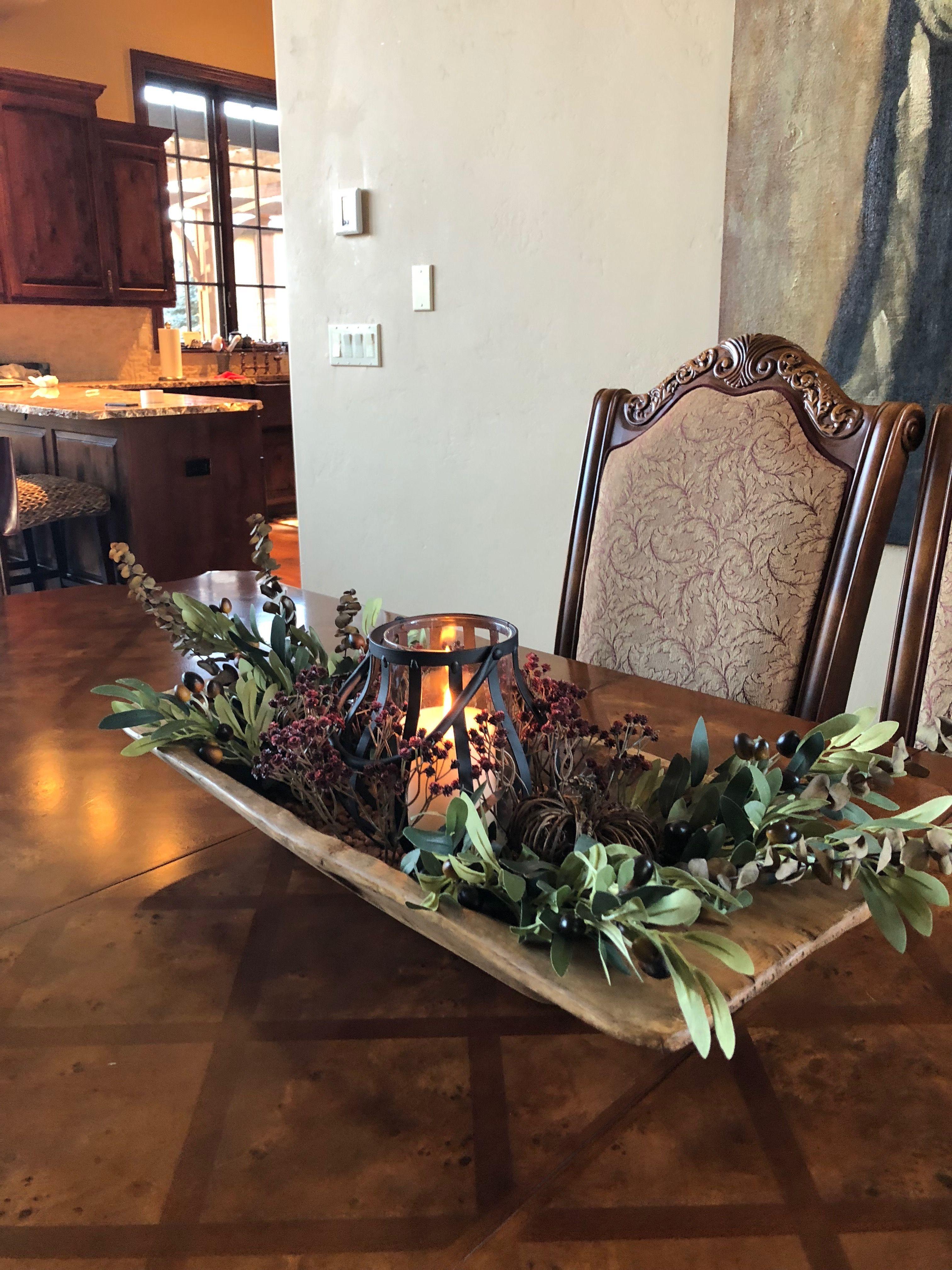 Formal Dining Room Decor Rustic