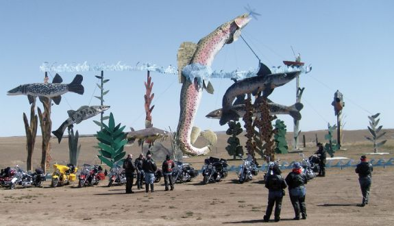The Enchanted Highway features the Worlds Largest Metal Sculptures