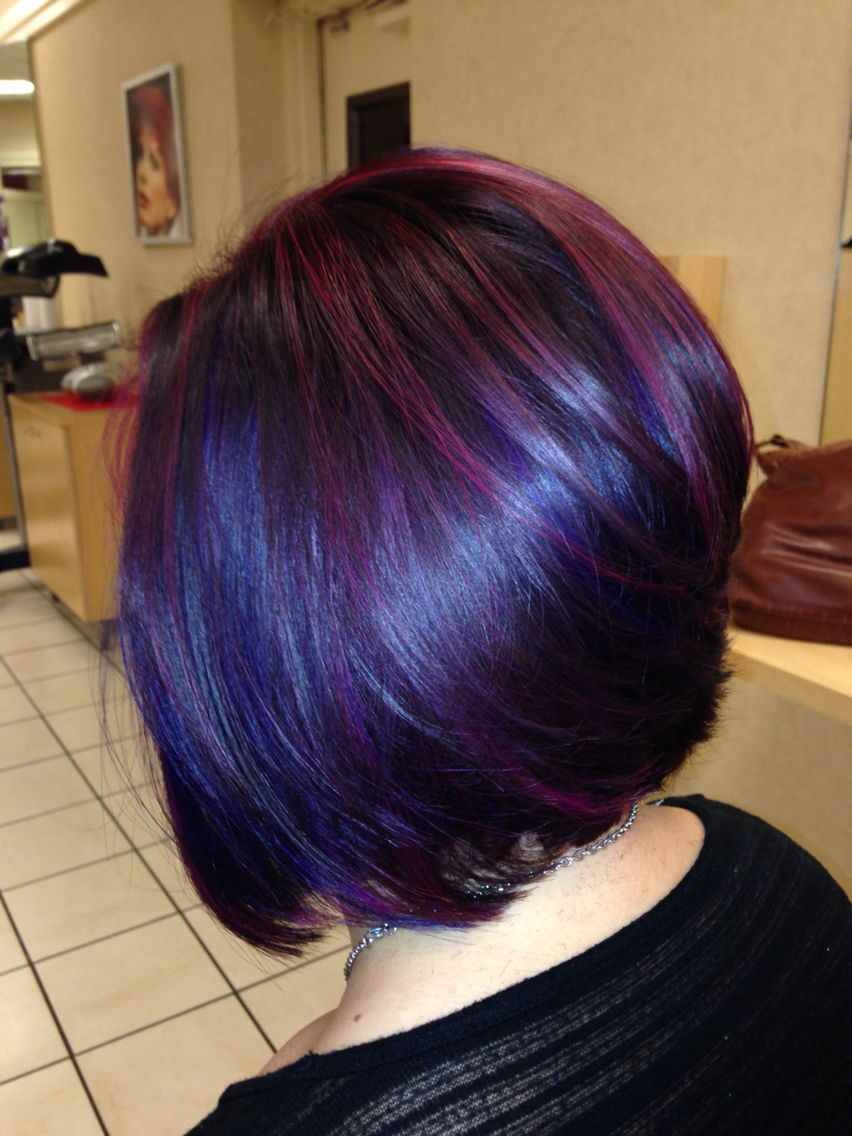 Hair by samantha noel parvana wild orchid with parvana violet to