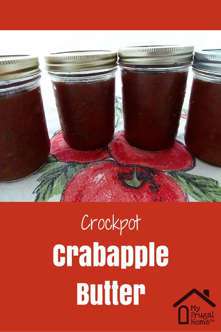 Crockpot Crabapple Butter Recipe Crab Apple Recipes Crab Apple Crabapple Butter Recipe