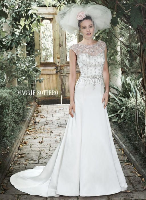 Wedding Dresses By Maggie Sottero Maggie Bridal By Maggie Sottero 5mw667 Leandra Usabridal Com By Bridal Warehouse Bridal Prom Quinceanera Special Occasio Maggie Sottero Wedding Dresses Sottero Wedding Dress Wedding Dresses