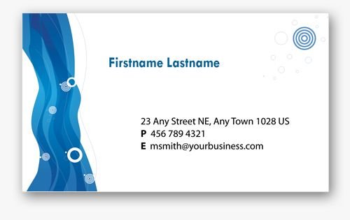 Project Manager Business Analyst IT Finance Koon Send Road - Personal business cards template