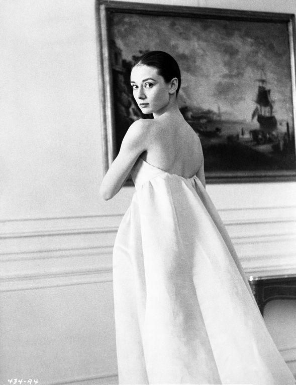Audrey-Hepburn-in-her-Wedding-Gown-The-Nuns-Story-1959-Fine-Art ...