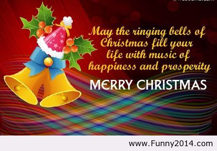 Nice Merry Christmas Quote With Wallpaper Awesome