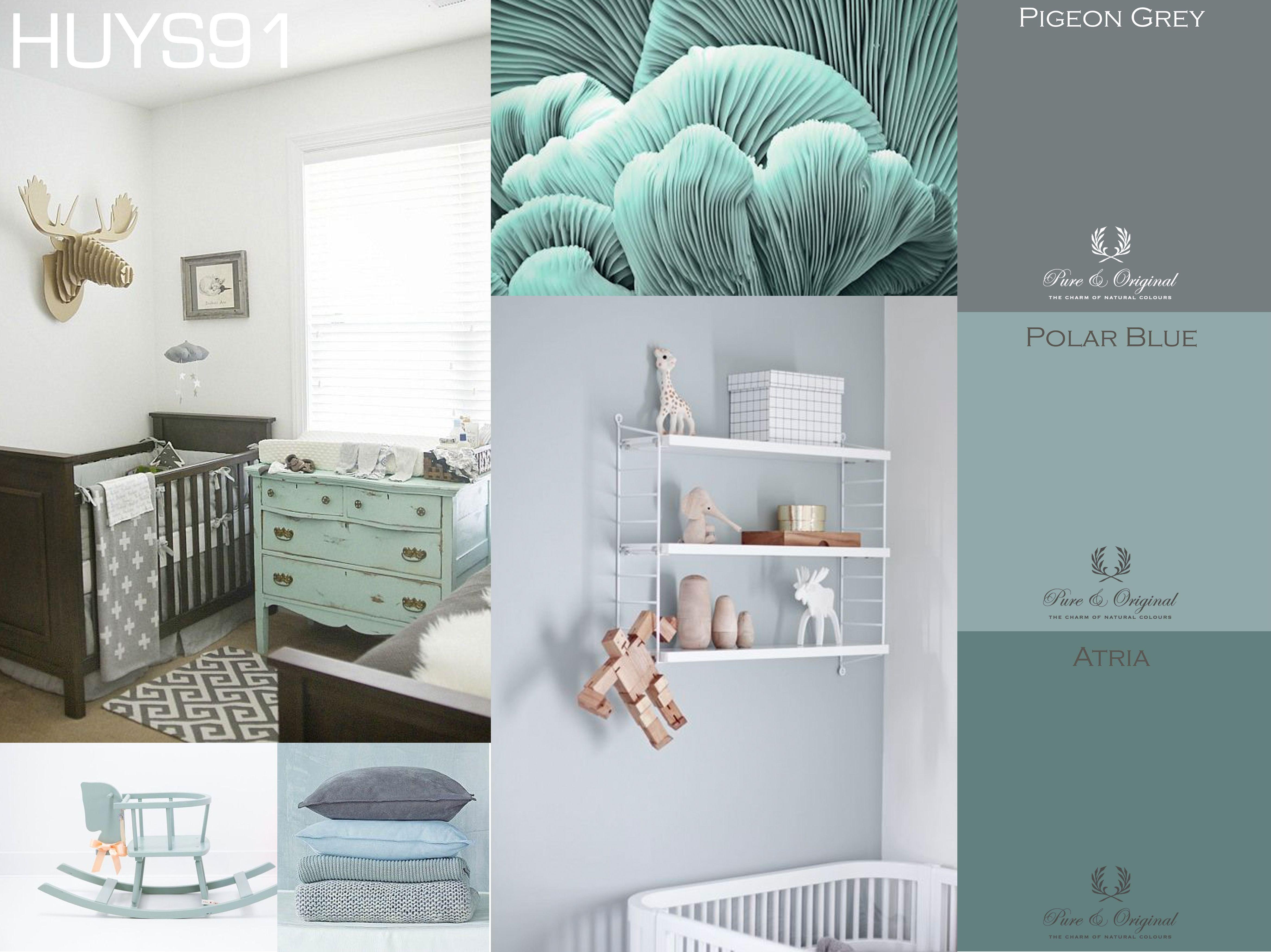Kleuren Voor Babykamer : Babykamer kinderkamer kleuren pure original huys