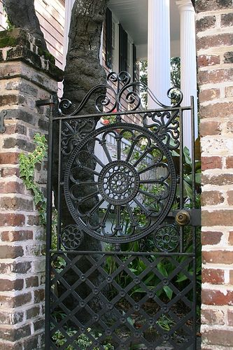 Wrought Iron Beauty Garden Gates Fencing Fence Gate Gate Design