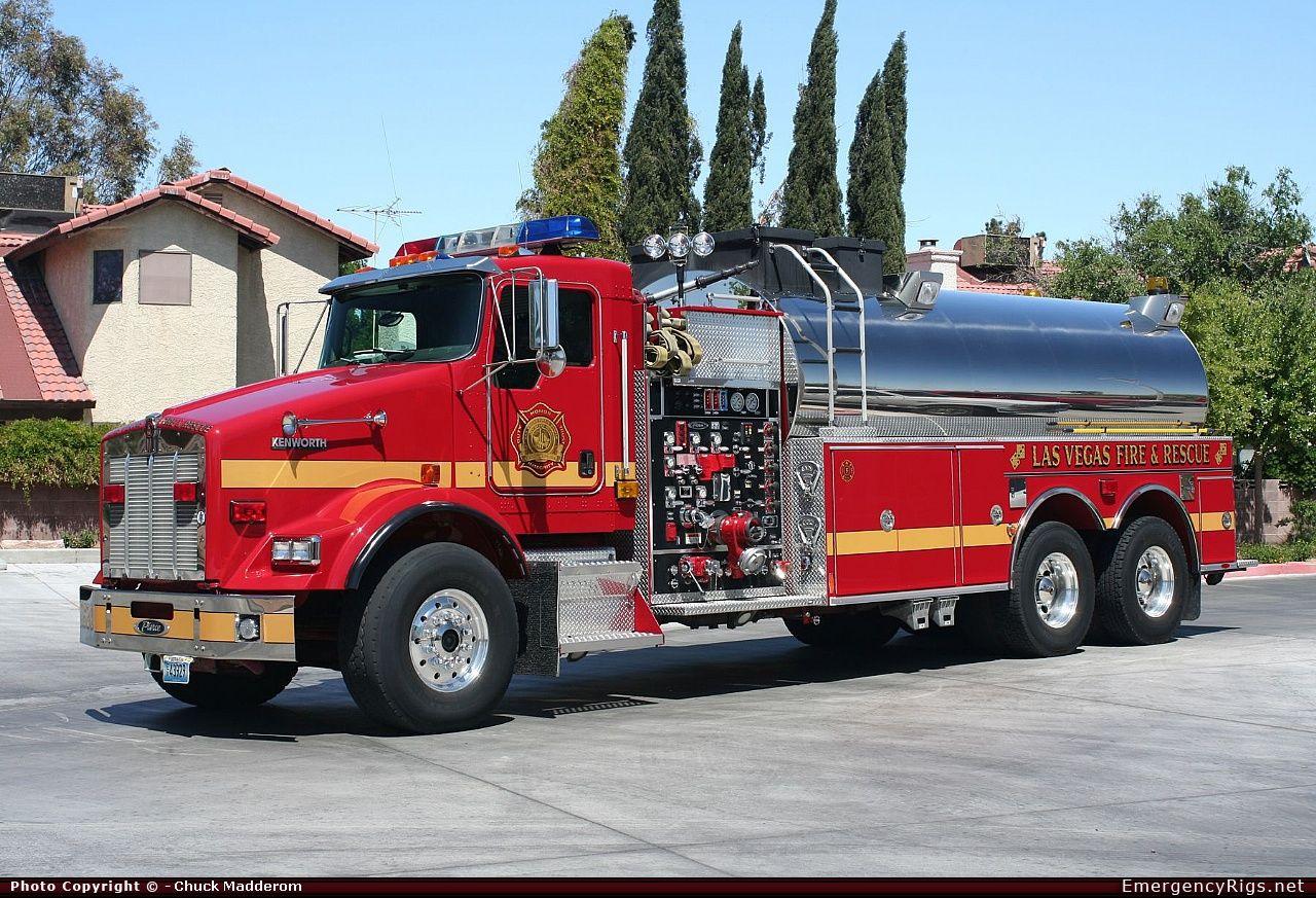 Las Vegas Fire Department   ... Tanker Las Vegas Fire Department Emergency Apparatus Fire Truck Photo