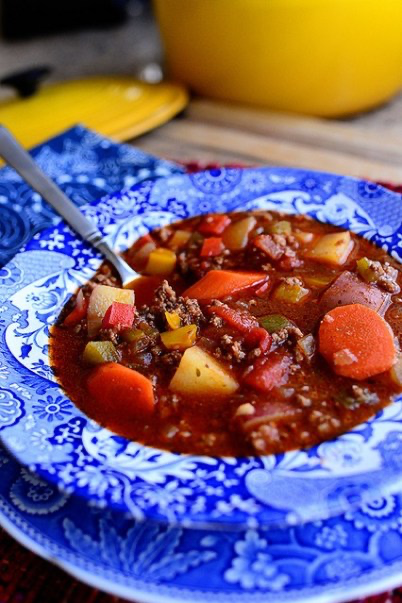 Try This Hearty Hamburger Soup Recipe ASAP