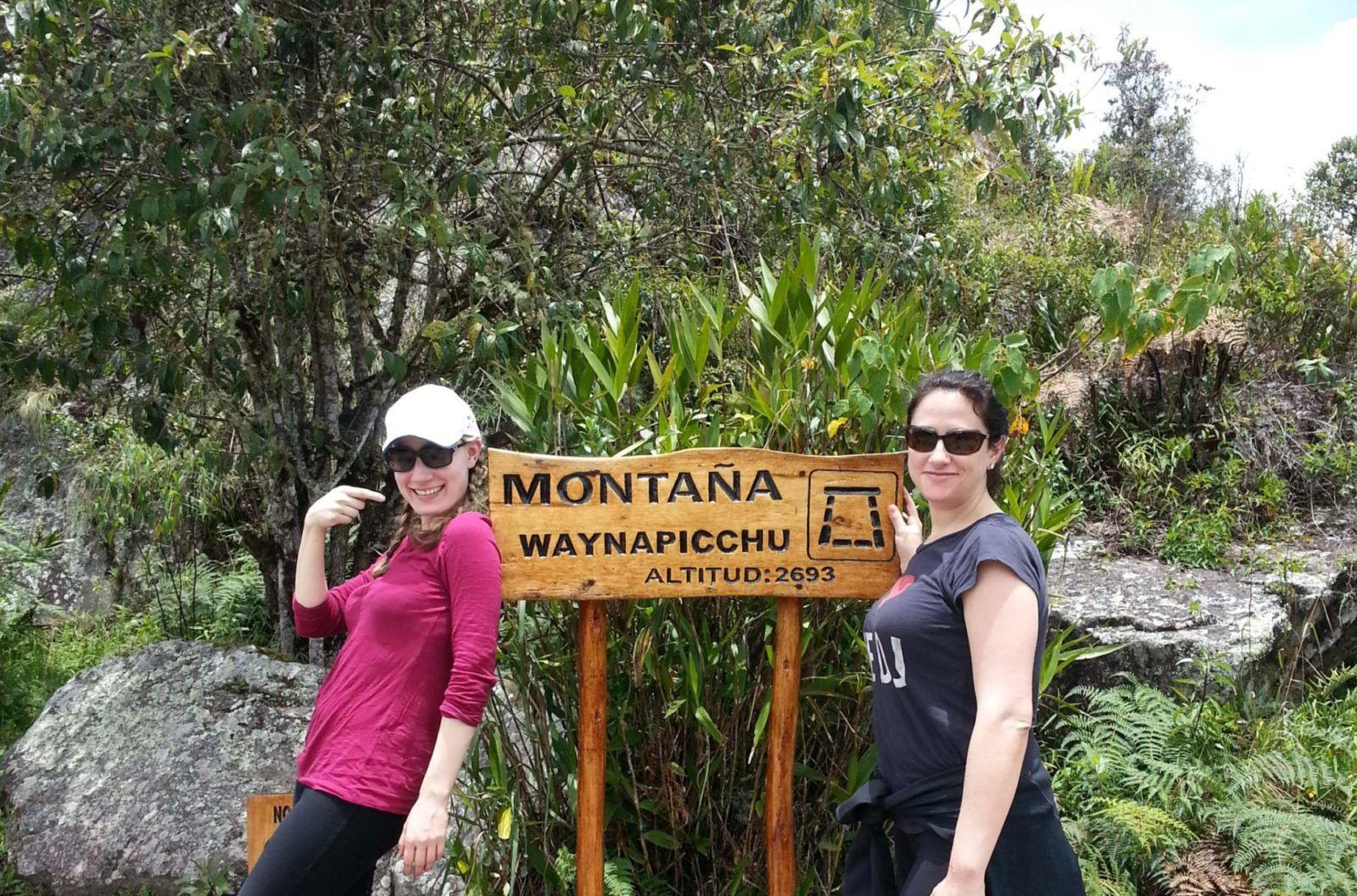 Wayna Picchu hike - Peru