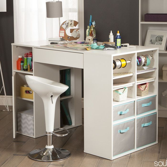 Crea Craft Table Craft Tables With Storage Craft Table Craft Storage