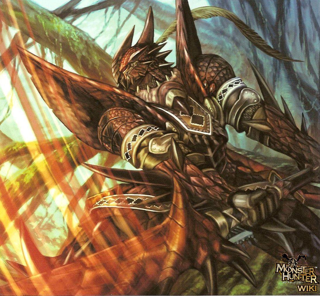 Rathalos Man Monster Hunter (Hunters) Pinterest