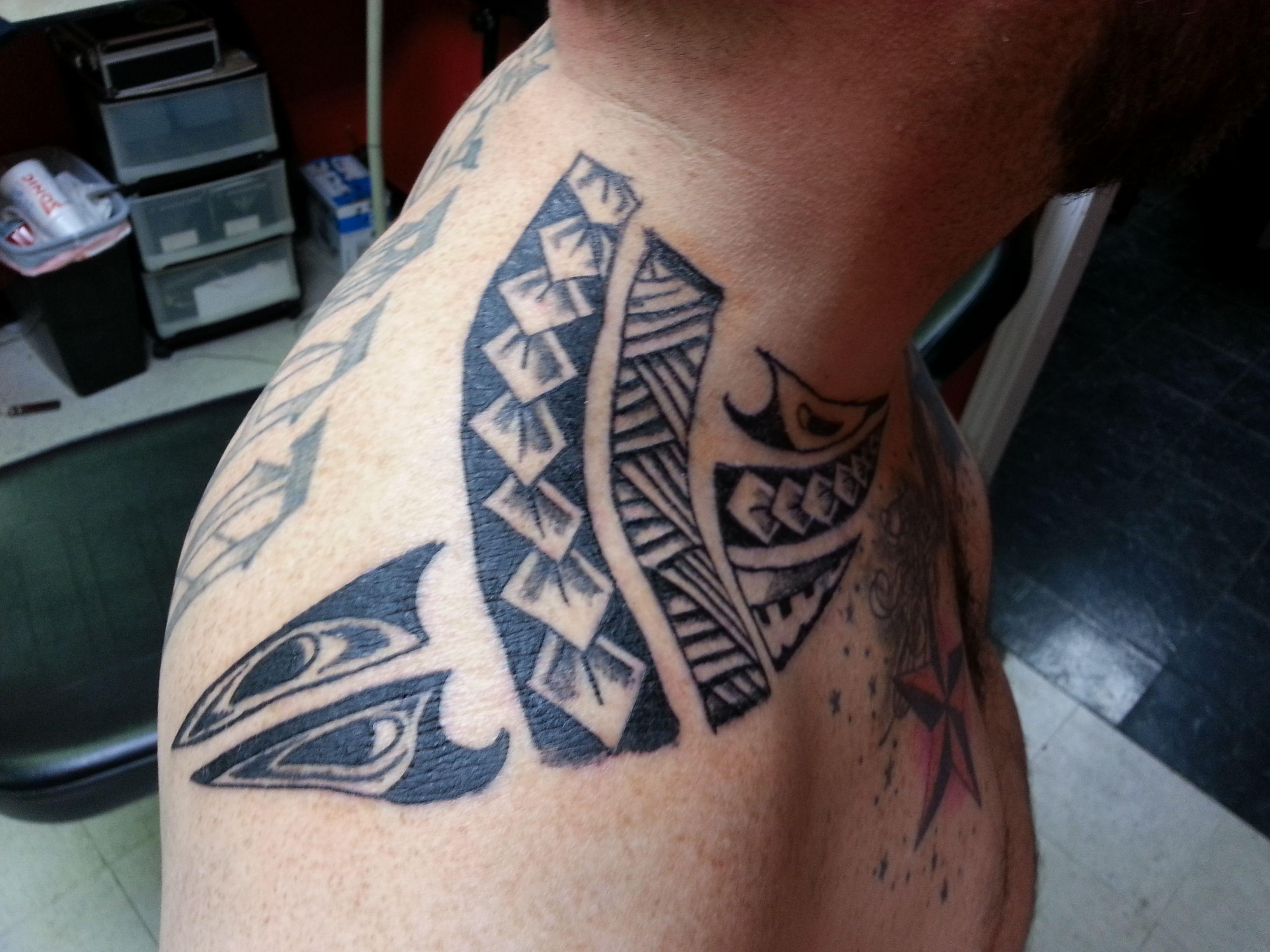 Bob S Tribal Tat By Jasin Tyson Turk Tattoo Studio Tattoos