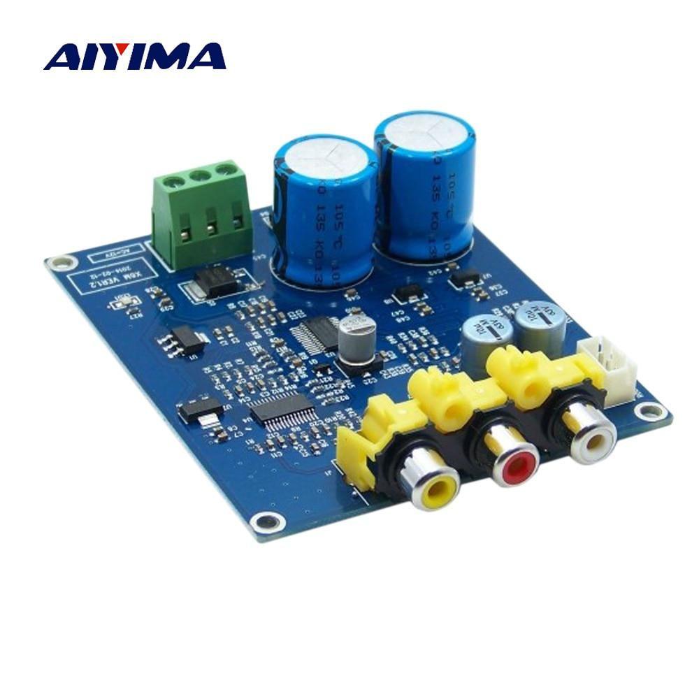 Aiyima Cs8416 Cs4398 Decoder Board Dac Usb Coaxial 24bit 192k Decoding Dual Ac12v Diy Yesterday S Price Us 22 89 20 36 Eur Today S Price Usb Audio Ebay