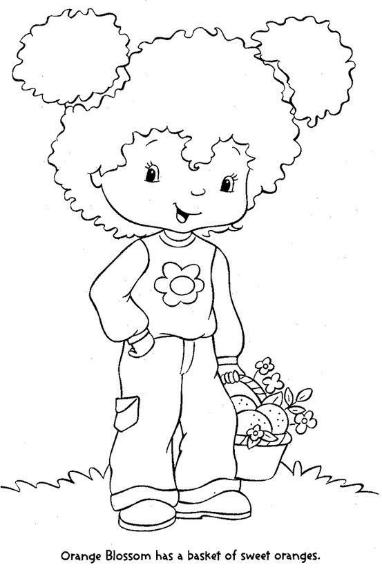 Coloring Pages Digi Stamps Coloring Books Bear Coloring Pages Strawberry Shortcake Coloring Pages