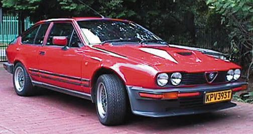 Alfa Romeo Gtv6 3 Liter From South Africa Wheels Alfa Cars