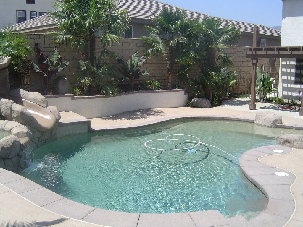 tropical backyard tiki paradise in corona california by
