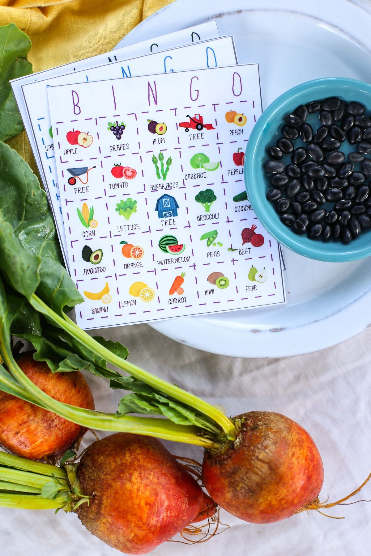 Teach Your Kids To Love Fruits And Veggies With This Free