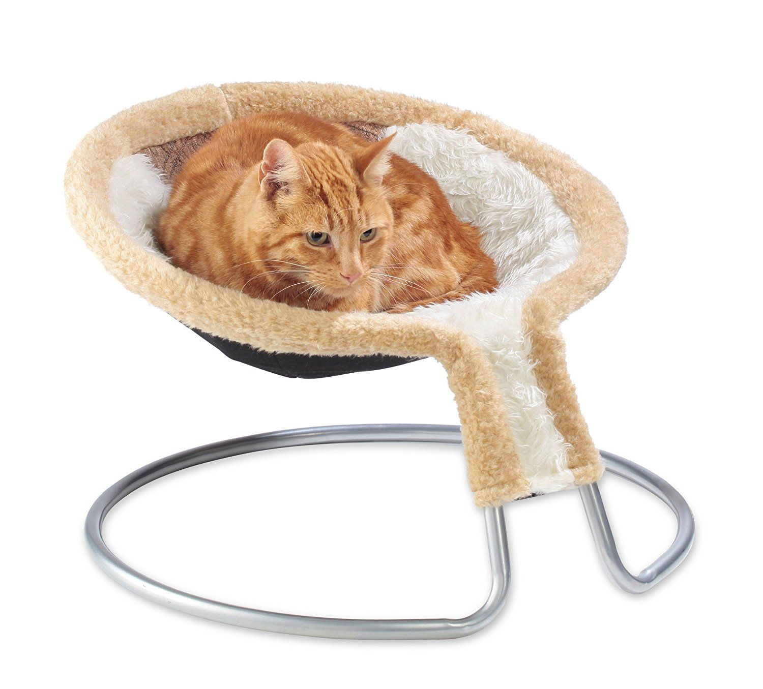 Magnificent Cleo Deluxe Cat Bed Cat Napper Chair Bed Brown Diamond Interior Design Ideas Clesiryabchikinfo