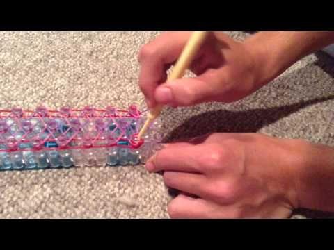 How to make a liberty twist rainbow loom bracelet